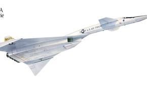 Picture flight, The plane, Valkyrie, Valkyrie, XB-70