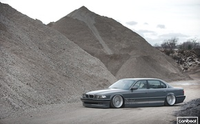 Picture BMW, tuning, Stance, canibeat, E38, 740il