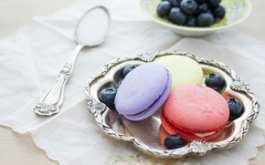 Picture Food, sweets, macarons