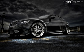Wallpaper machine, tuning, bmw