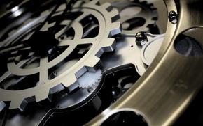 Wallpaper mechanism, gear, watch