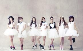 Picture music, girls, Asian girls, South Korea, Kpop, A PINK
