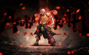 Picture game, anime, asura's wrath, half god
