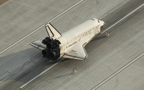 Picture Shuttle, Discovery, the Vandenberg air force base, ship NASA, The Kennedy center, transport, space, reusable