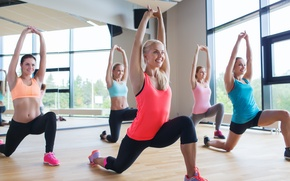 Picture workout, kind, elongation, Earobics, warm-up