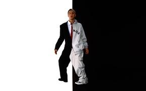 Picture actor, musician, eminem, Eminem, rapper, different images