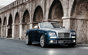 Picture Rolls-Royce, convertible, Dawn, Mansory, rolls-Royce, down