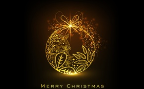 Picture glow, congratulations, merry christmas, Christmas decoration