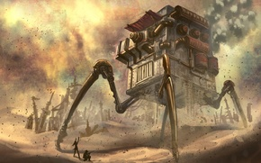 Picture people, fiction, mechanism, House, art. house