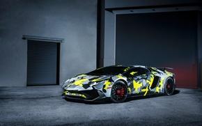 Picture Lamborghini, Italy, Front, Aventador, Supercar, Custom, LP-750-4