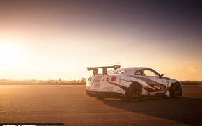 Wallpaper machine, light, Nissan, speedhunters, NISMO-GT, The World's Fastest Drift Car