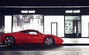 Picture red, London, Ferrari, red, sports car, Ferrari, 458, Italia