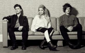 Picture music, British, team, singer, London Grammar, Hannah Reid