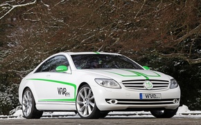 Picture Winter, Tuning, Mercedes-Benz CL500 Wrap Works Design
