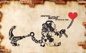 Picture heart, league of legends, anchor, nautilus