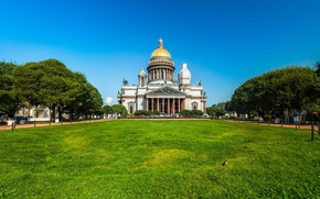 Picture The sky, Peter, Saint Petersburg, St. Isaac's Cathedral, Temple, Russia, SPb, St. Petersburg, spb, Leningrad