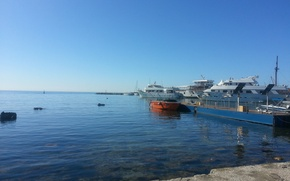 Picture Sea, Port, Yacht, Cyprus, Cyprus, Paphos