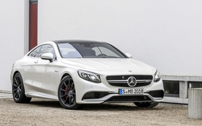 Picture Mercedes-Benz, AMG, Coupe, S63, 2015