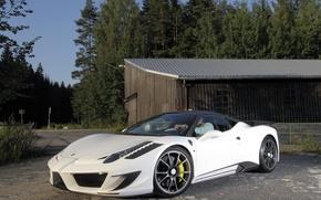 Picture auto, tuning, Ferrari, 458, Mansory, Mansory, Siracusa