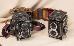 Wallpaper camera, background, Minolta Autocords