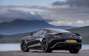 Picture Aston Martin, Aston Martin, Vanquish, vankvish, 2014, Carbon Black