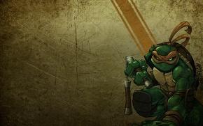 Wallpaper tmnt, Michelangelo, teenage mutant ninja turtles, teenage mutant ninja turtles, Michelangelo, Mike