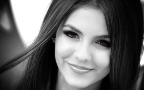 Picture girl, actress, brunette, Victoria Justice, Victoria Justice