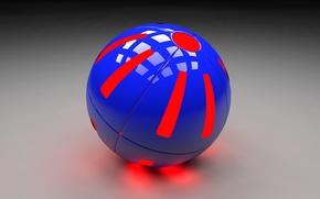 Picture Balls, C4D, Bal7