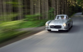 Picture Mercedes-Benz, 1954, 300SL, W198