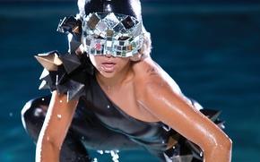 Picture girl, music, pool, music, actress, mask, singer, pool, celebrity, singer, fame, Lady Gaga, pop, Lady …