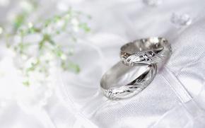 Wallpaper macro, ring, wedding