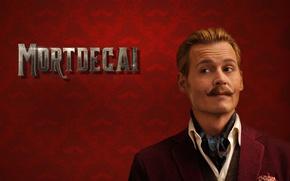 Picture Johnny Depp, cinema, wallpaper, brown hair, brown eyes, man, movie, film, mustache, comedy, rich, Mortdecai, …
