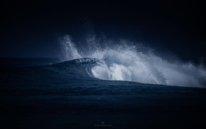 Picture sea, wave, squirt, nature, the ocean, wave