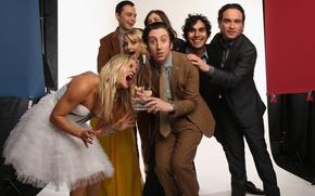 Picture dress, award, actors, The Big Bang Theory, penny