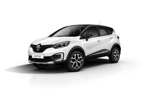 Wallpaper Renault, Reno, Captur, Kaptur, white background