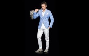 Picture costume, male, singer, brunette, Sergey Lazarev