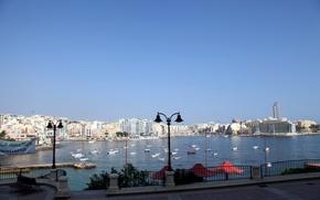 Picture promenade, Malta, Valletta, Valletta