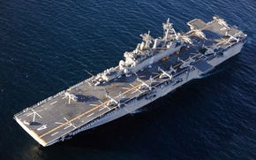 Picture weapons, ship, multipurpose amphibious assault ship, USS Boxer