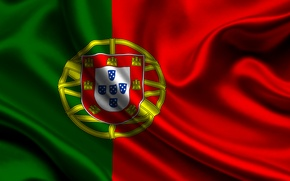 Wallpaper flag, Portugal, portugal