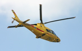 Picture flight, helicopter, Agusta, A109 Power