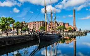 Picture the sky, ship, England, home, sailboat, pipe, Doc, Liverpool