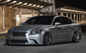 Picture tuning, grey, Lexus GS