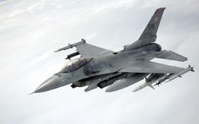 Wallpaper weapons, the plane, F-16