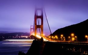 Picture CA, San Francisco, Golden Gate, USA, USA, Golden Gate Bridge, California, San Francisco