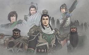 Picture game, Games, Dynasty Warriors, Shin Sangoku Musou, three kingdoms, Shu