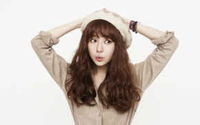 Picture Girl, Asian, Model, Beauty, Actress, Cute, Funny, Singer, Yoon Eun Hye, Korean