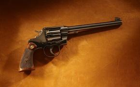 Wallpaper colt, background, leather, revolver, colt