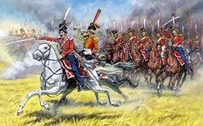Picture Cossacks, 1812 - 1814, Guards, Karasuk