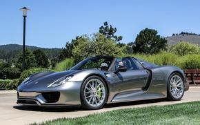 Picture machine, car, Spyder, Porsche 918