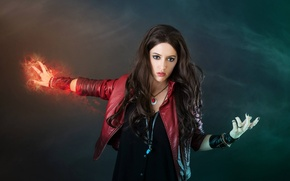 Picture Marvel, The Avengers, Avengers, Cosplay, Scarlet Witch, Cosplay, Scarlet witch, Wanda Maximoff, Age of Ultron, …